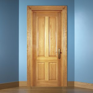 Traditional White Oak Doors