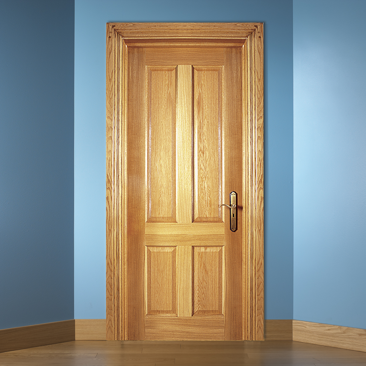 Traditional White Oak Doors